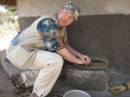 Seesamin jauhantaa Ugandassa