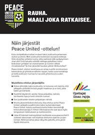 Peace_United-ottelu